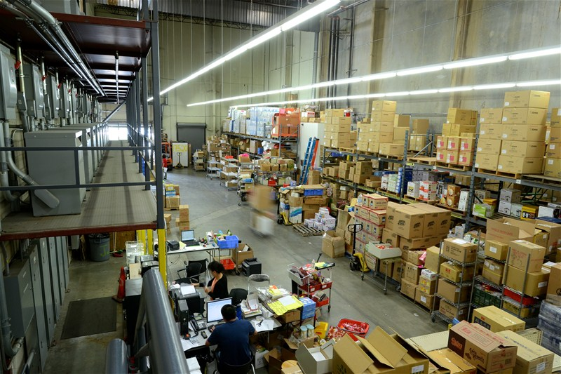 TSH online order distribution center