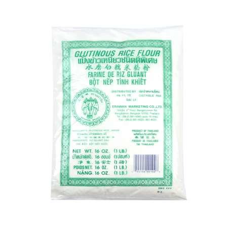 泰国三象牌 水磨白糯米粉 16oz