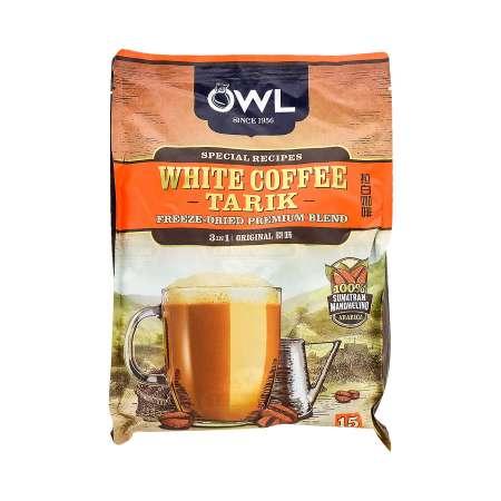 OWL White Coffee Tarik (Original) 540g (15 Sachets) - Tak ...